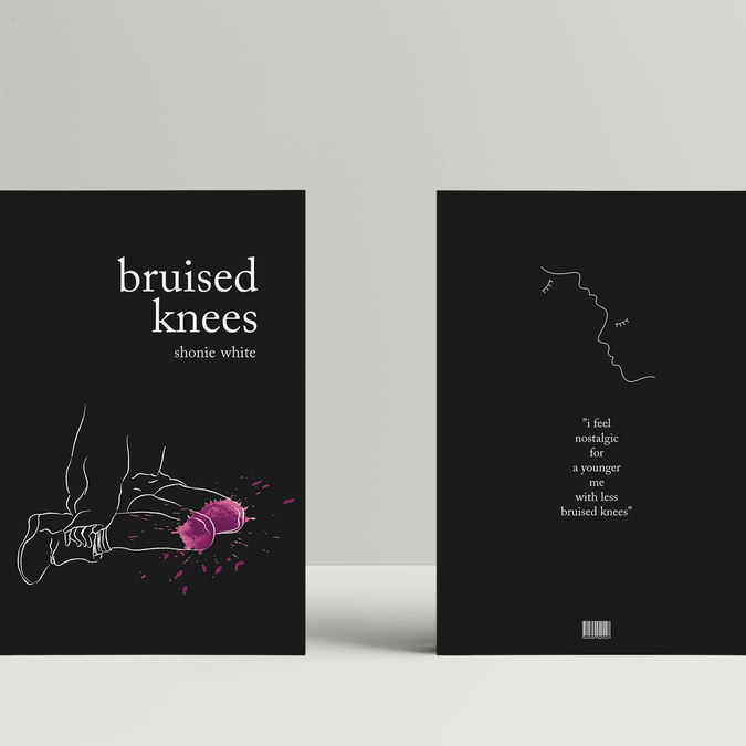 Design Angsty Minimalist Poetry Book Cover