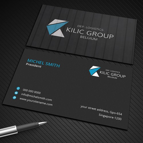 Business card in chape of container business card contest runner up design by graphic flame reheart Choice Image