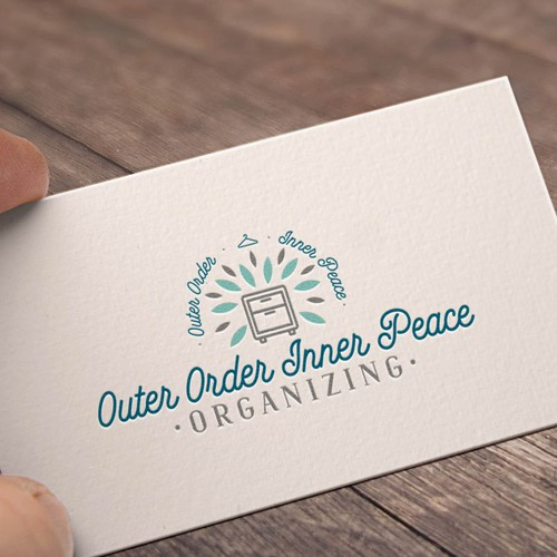 Design an upscale logo for a professional organizer logo design entries from this contest colourmoves