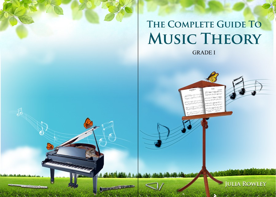 Music Book Cover Design : Music education book cover design print or packaging