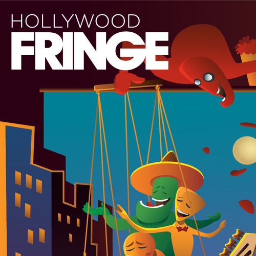 Guide Cover for the 2018 Hollywood Fringe Festival Design by Psyarts00