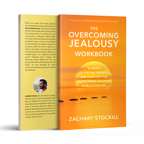 Design a book cover for The Overcoming Jealousy Workbook