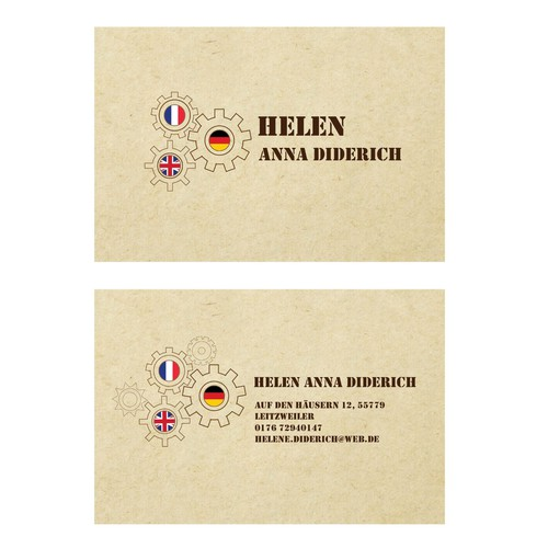 Runner-up design by Alena Sokolova