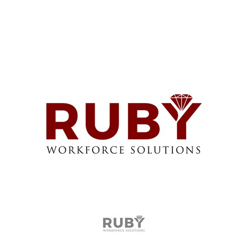 Creative logo needed for Ruby Workforce Solutions | Logo design contest