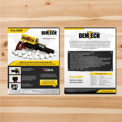 2 sided brochure template in microsoft publisher