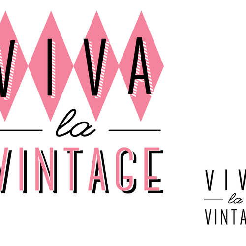 Update logo for Vintage clothing & collectibles retailer for Viva la Vintage Design by Design Artistree