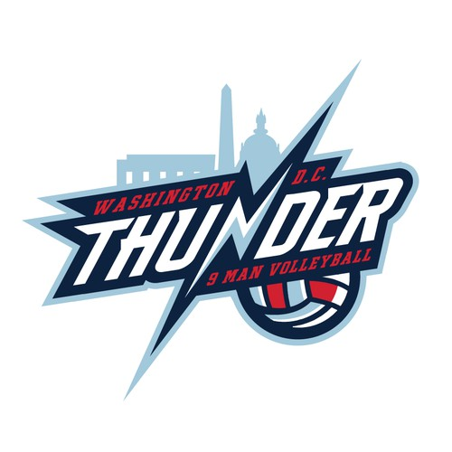 Design A Eye Popping Logo For Thunder Volleyball Club Logo Design Contest 99designs