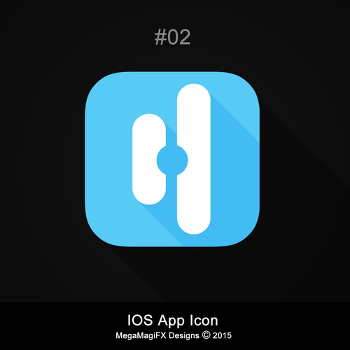 Design an app icon for an ios app in mindfulness for Space planning app