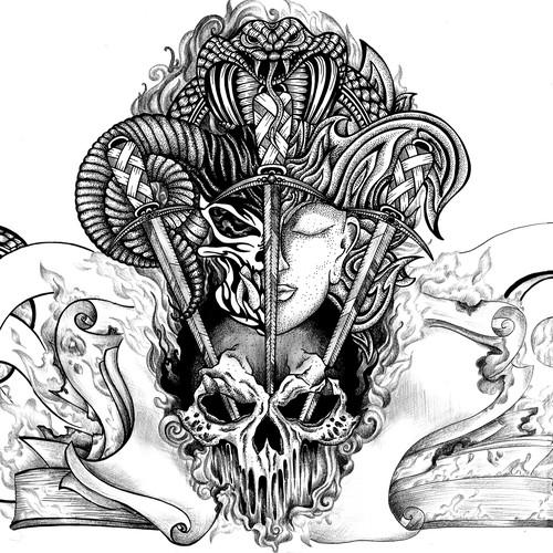 Runner-up design by LazebraArt