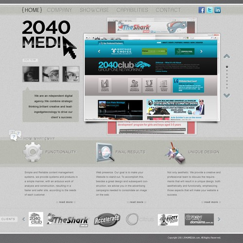 Diseño finalista de jFog