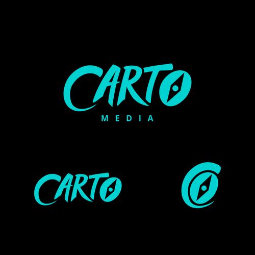 create a logo for carto a new digital media company