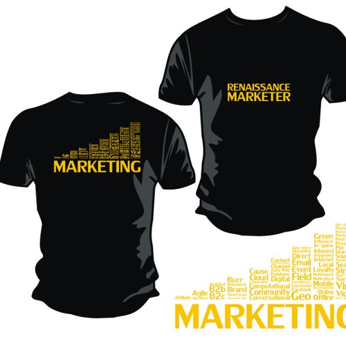 The Renaissance Marketer T-Shirt | T-shirt contest
