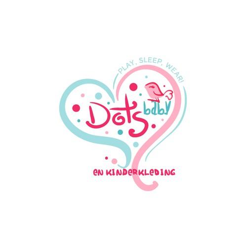 Design Kinderkleding.Maak Mijn Webshop Logo Lief Onderscheidend En Modern Logo