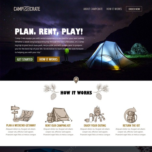 Runner-up design by Clouds