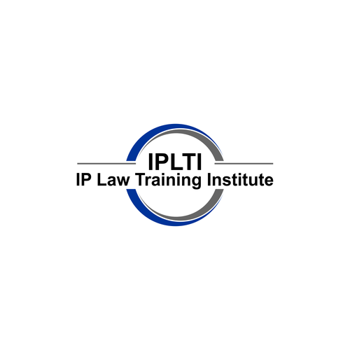 logo design for ip law training institute iplti logo