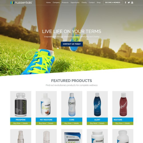 Runner-up design by DesignReviver
