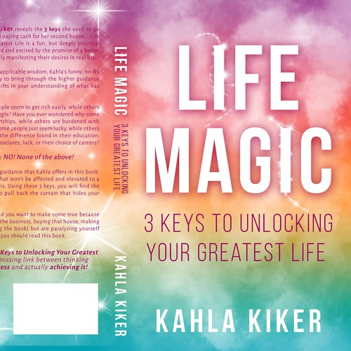 Create the magic on my next book cover life magic book cover contest runner up design by galland21 solutioingenieria Images
