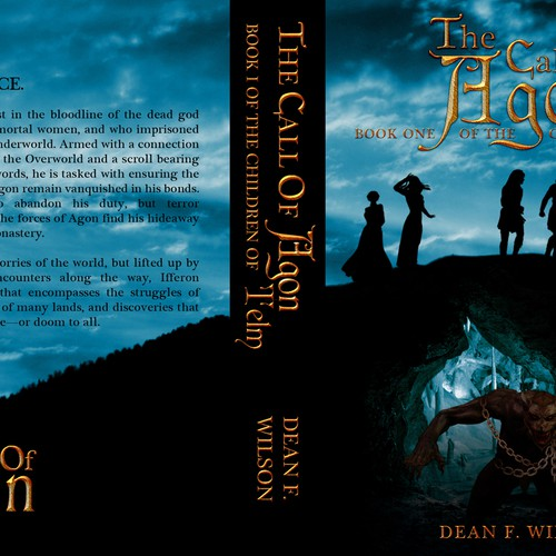 Fantasy Book Cover Creator ~ Create an epic fantasy book cover for dioscuri press