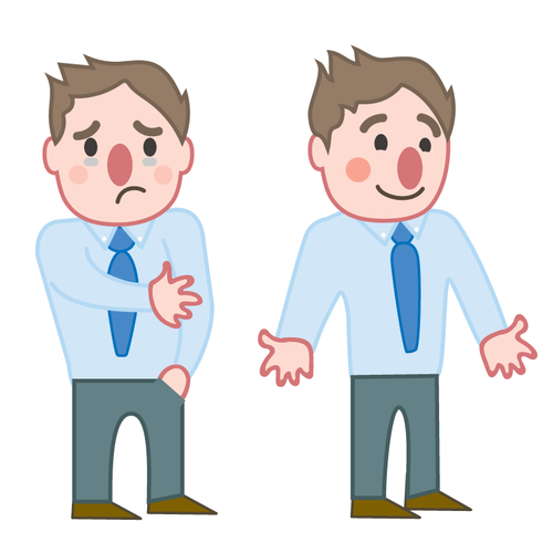 Character Design Ebook : Create characters for an ebook on employee makeovers