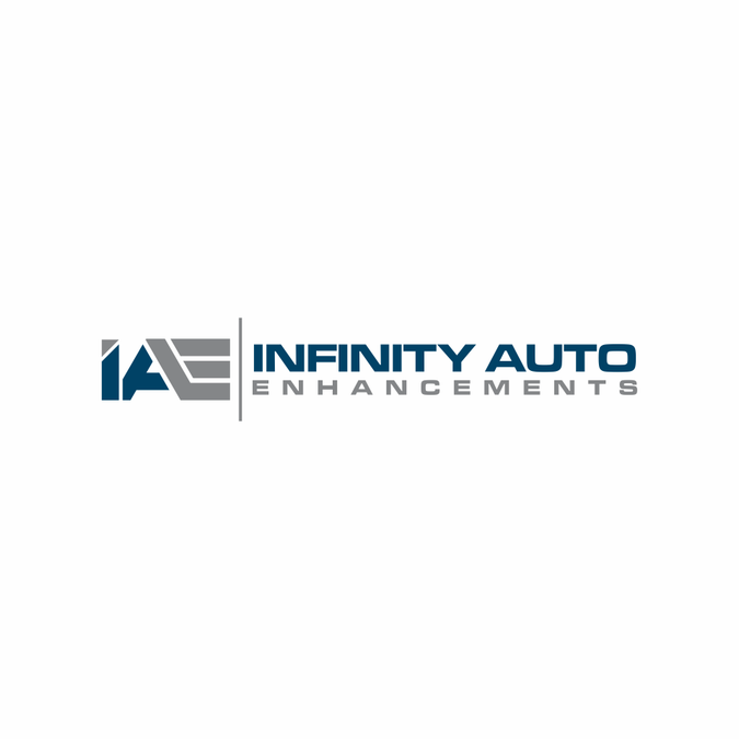 infinity auto enhancements logo design contest