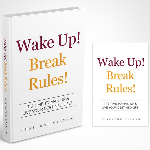 Book Cover Design Rules ~ Create an attention grabbing book cover for wake up break