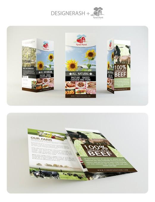 Tyner pond farm needs a new brochure design contest di for Design of farm pond ppt