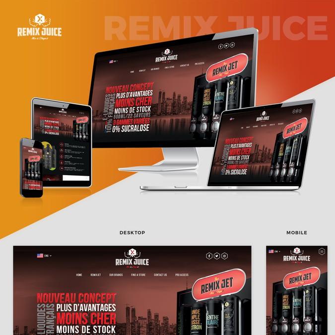 Design vencedor por Abbram