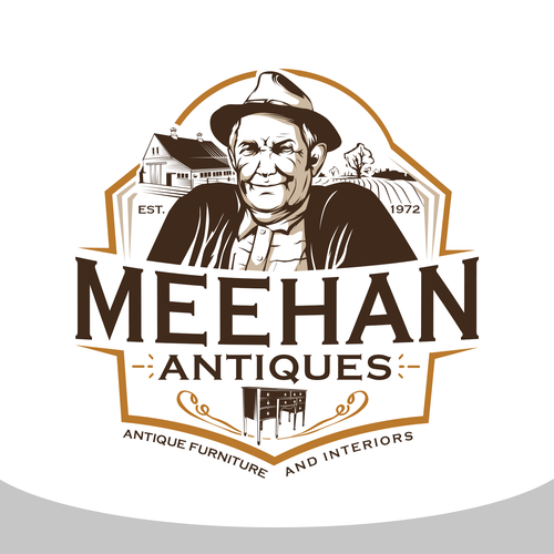 antique furniture logo. Entries From This Contest Antique Furniture Logo