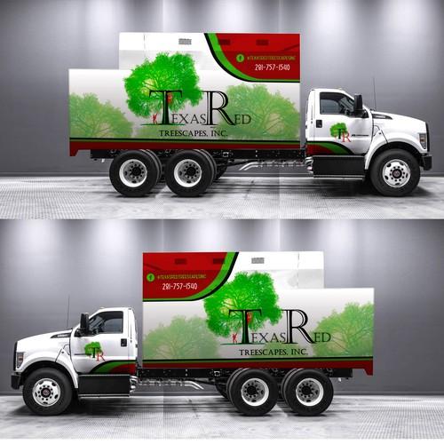 4681e43714 Tree service needs eye catching Truck wrap