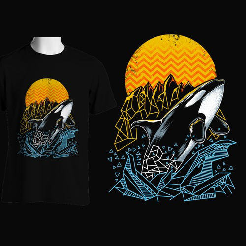 Orca - Also known as the Killer Whale Design by mac23line