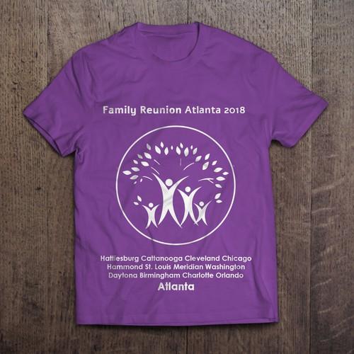 bbf3d5a14d Family Reunion T-shirt design   T-shirt contest