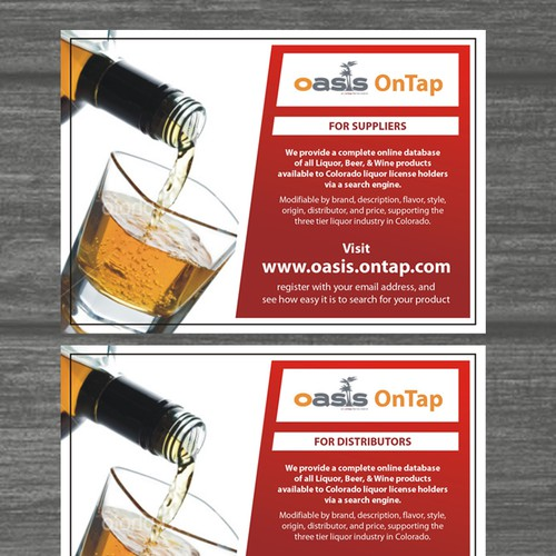 New postcard or flyer wanted for OnTap, LLC | Postcard