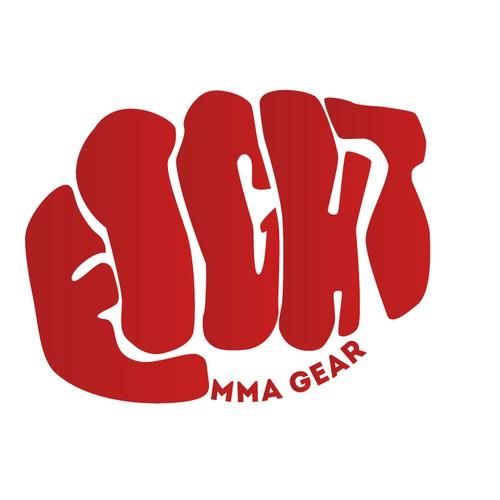 quotfightquot logo for mma mixed martial arts logo design contest