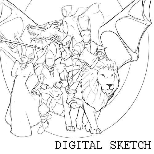 Create A Fantastic Fantasy Illustration