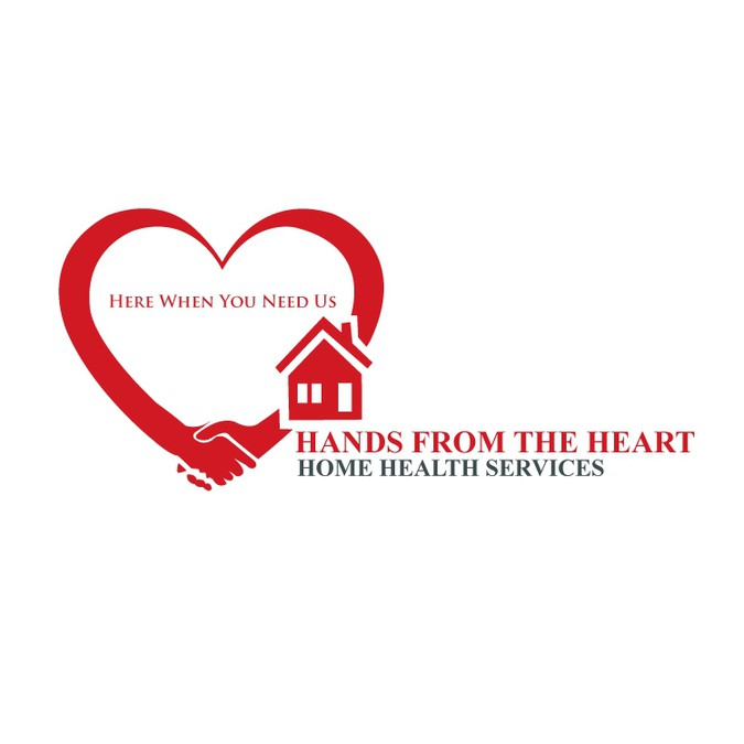 Create the next logo for Hands From The Heart Home Health