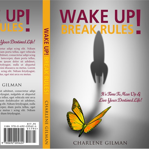 Book Cover Design Rules : Create an attention grabbing book cover for wake up break
