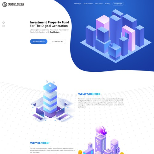 Diseño finalista de Mesh Agency