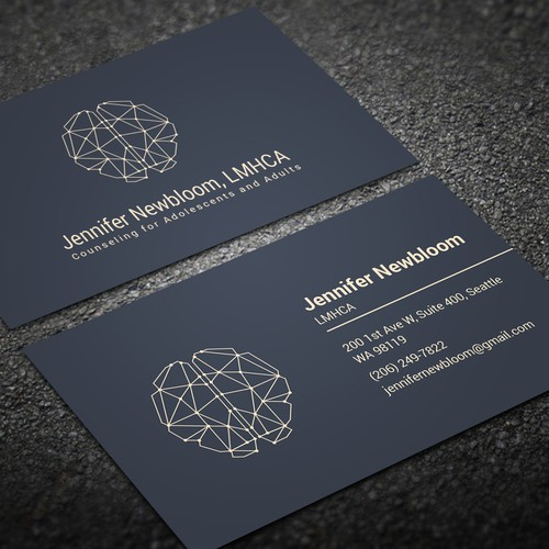 Business Card For A New Mental Health Practice Business Card Contest 99designs