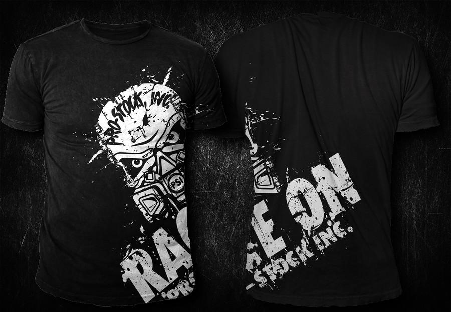 Pro Design Inc: Snowmobile Drag Race T-Shirt For Pro-Stock Inc.