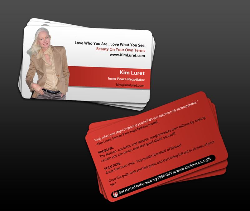 Business card design for woman motivational speaker stationery contest business card design for woman motivational speaker colourmoves