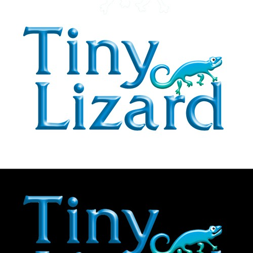Tiny Lizard Logo Design by logoartist