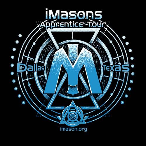 "Create a t-shirt for Infrastructure Masons (iMasons) new data center tour: ""iMasons Apprentice Tour"" Design by 80Kien"