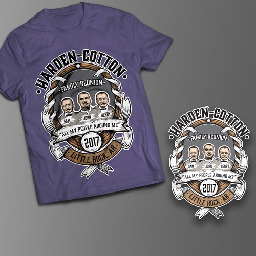 Family reunion t shirt design | T shirt contest | 99designs