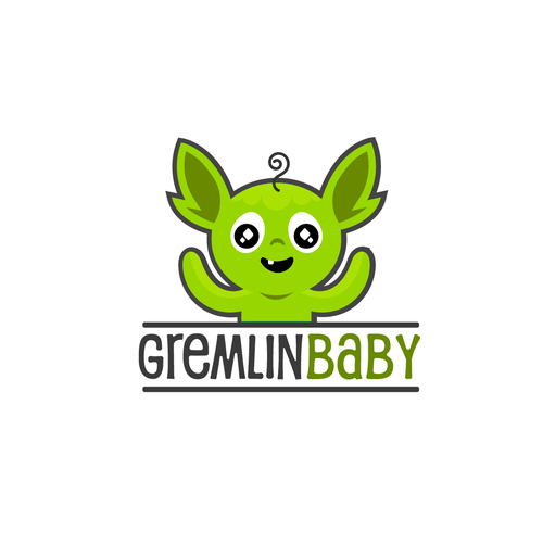 gremlin baby logo design logo design contest