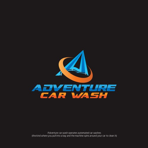 Design a cool and modern logo for an automatic car wash company Design by gaeah