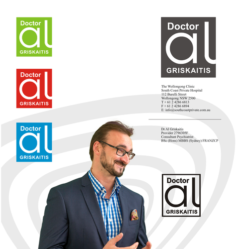 "Create a brand identity for a ""whole person"" psychiatrist Design by sexpistols"