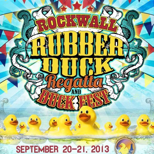 Design Fun Event Poster For Rubber Duck Regatta Amp Duck