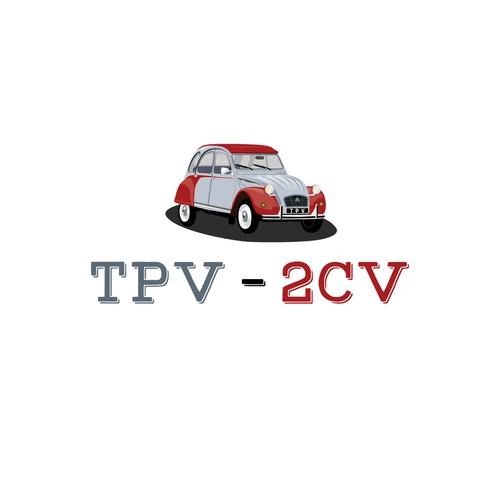 relooking logo 2cv pour nouveau site e
