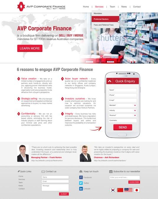 Gewinner-Design von WebXpert