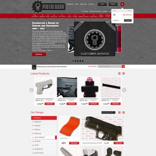 Runner-up design by Webtiger